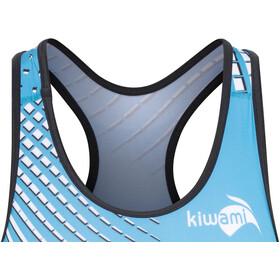 KiWAMi Prima Openback Suit Damen black/turquoise